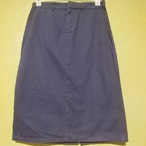 Tommy Hilfiger denim navy blue casual skirt
